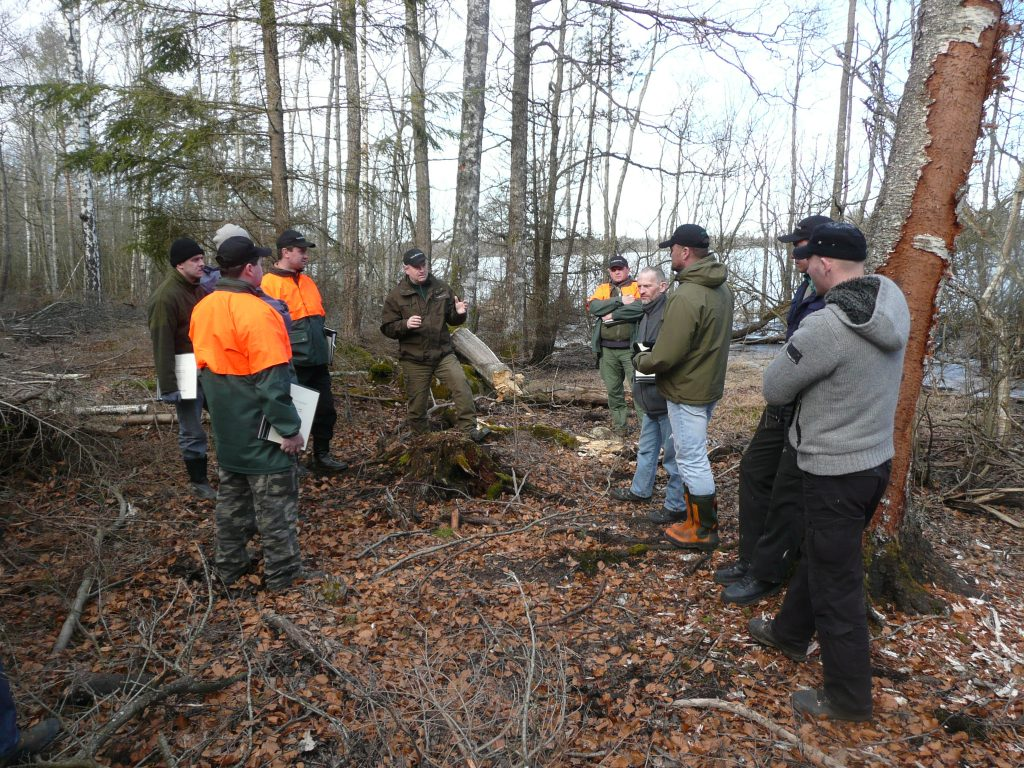 Training of supervisors and silviculture workers in FSC/PEFC standards